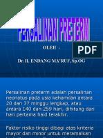 Kuliah 6.8 - Persalinan preterm.ppt