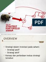 Portofolio & Investasi Bab 12 - Strategi Portofolio Saham