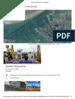 Pelabuhan Tanjung API API - Google Maps
