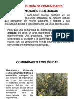 ecología comunidades