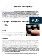 Laptops Access Bios Settings Key 4178 Md7vz2
