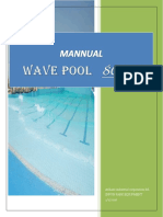Operation & Installation Manual for Wave Pool