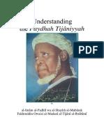 Understanding the Faydhah Tijaniyyah