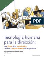 Tecnología Humana Para La Dirección