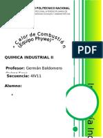 Practica 3 Quimica Industrial II