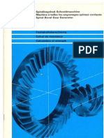 Spiral Bevel Gear - Calculation of Strenght
