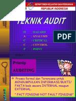 Pengawasan HACCP (Teknik Audit, Dll.