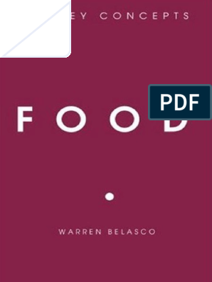 Belasco Food Key Concepts | Meat | Foods