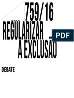 Regularizar a Exclusão
