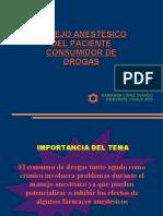 Manejo Anestesico Del Pte or de Drogas