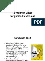 8. Komponen Dasar Elektronika