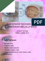 8-Biofarmasi Sediaan Yang Diberikan Melalui Mata