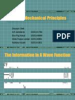 Quantum Mechanical Principles - KELOMPOK 3