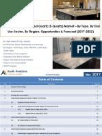 United States Engineered Quartz (E-Quartz) Market
