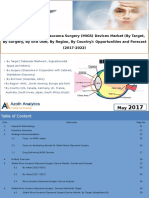 Global Micro-Invasive Glaucoma Surgery (MIGS) Devices Market