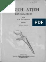 Tarich Atjeh Dan Nusantara
