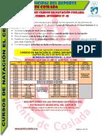 DEPORTE | Inscripciones Cursos Natación Coslada / Invierno 2017/18