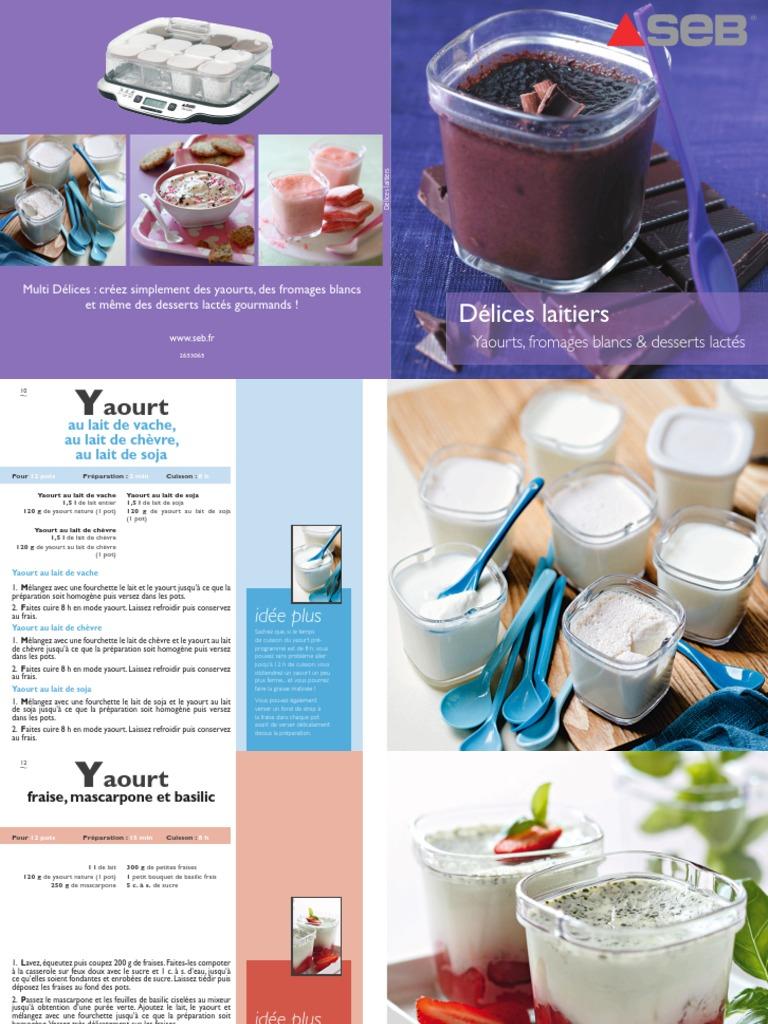 LR Yaourtiere   YG12   Yaourt   Chocolat