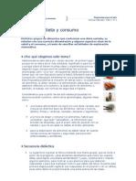 Alimentos Dieta y Consumo