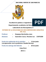 INFO#15 Catalisis