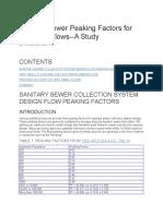Plumbing Drainage Flow Rates