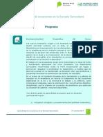 Programa-Plan de Clases-Crit. de Evaluación 2da. Cohorte