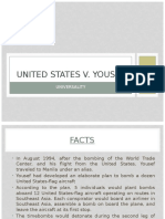 US vs Yousef