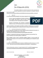 La Convention Pluriannuelle d'Objectifs