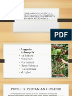 Perkembangan Dan Kendala Pertanian Organik Di Aceh Serta