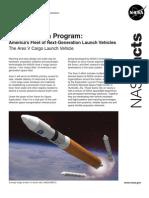 NASA 151420main aresV factsheet