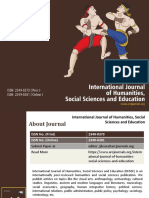 International Journal of Humanities, Social Sciences and Education - ARC Journals