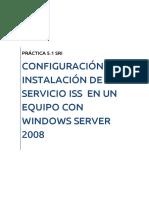 Instalación ISS Windows Server