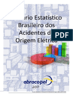 Anuário Estatístico Brasileiro Dos Acidentes de Origem Elétrica 2013-2016