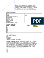 Sample Case Sheet