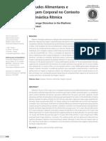 Distúrbios de Atitudes Alimentares e Distorção Da Imagem Corporal No Contexto Competitivo Da Ginástica Ritmica