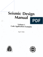 Seismic Design Manual 1999 Vol 1 SEAOC