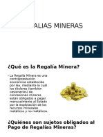 Regalias Mineras Finish