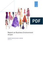 Report on Business Environment