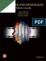 Manual de Psicopatologí. Belloch