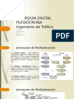 Jerarquia Digital Plesiócrona Presentacion