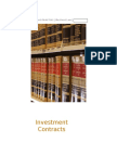 Investment Contracts