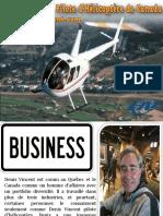 Denis Vincent - Pilote d'Hélicoptère de Canada