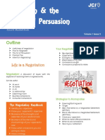 negotiation and the science of persuasion