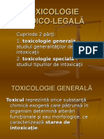 Toxicologie Medico Legală