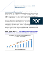 Atomic Layer Deposition Equipment Market Global Scenario, Market Size, Outlook, Trend and Forecast, 2015-2024