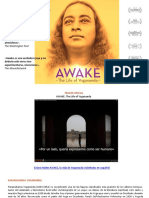 Dossier AWAKE. Despierta. La Vida de Yogananda