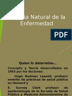 Tema 1 Historia Natural de La Enfermedad