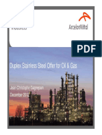 10 - Duplex Stainless Steel Offer for Oil & Gas