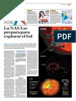 La NASA Se Prepara Para Explorar El Sol