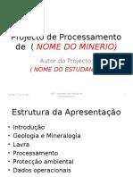 EXEMPLO DE ELABORACAO DE UM PROJECTO DE DESENHO DE PLANTA DE PROCESS.....ppt